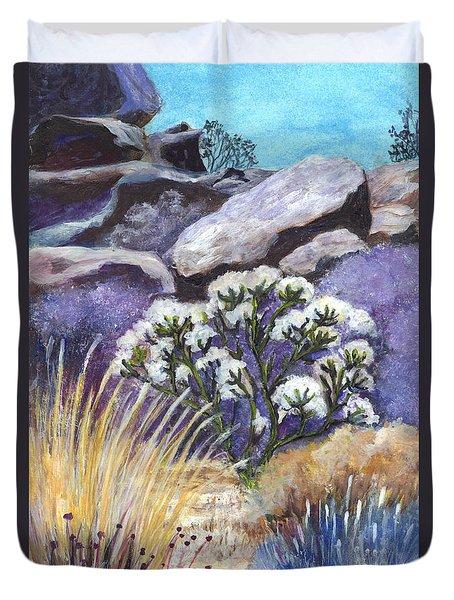 The Joshua Tree Duvet Cover by Carol Wisniewski
