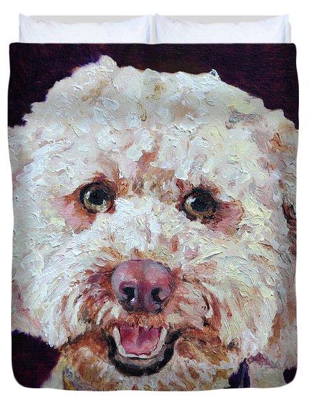 The Labradoodle Duvet Cover by Enzie Shahmiri