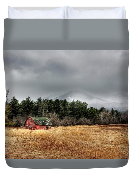 The Last Stand Duvet Cover by Lori Deiter