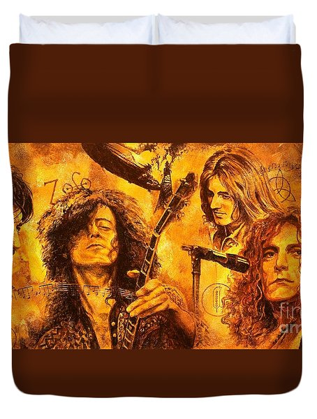 The Legend Duvet Cover by Igor Postash