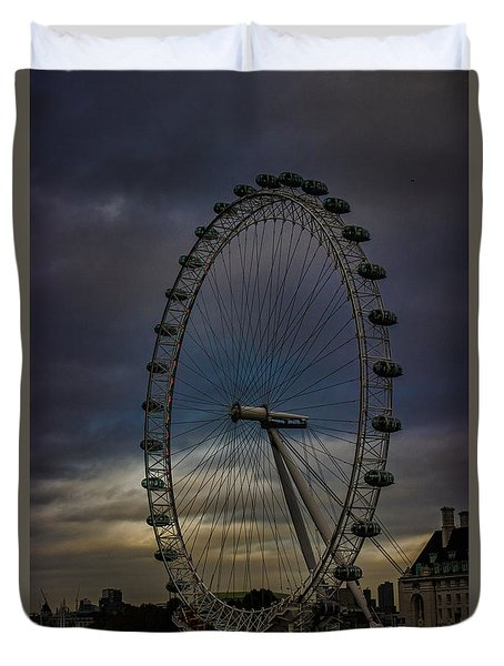 The London Eye Duvet Cover by Martin Newman