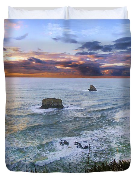 The Lookout Duvet Cover by James Heckt
