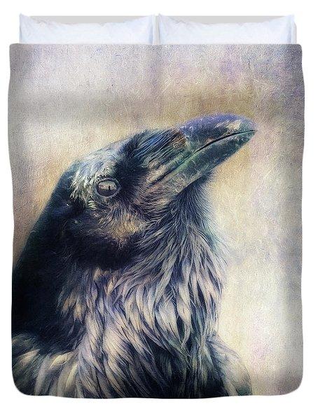 The Many Shades Of Black Duvet Cover by Priska Wettstein