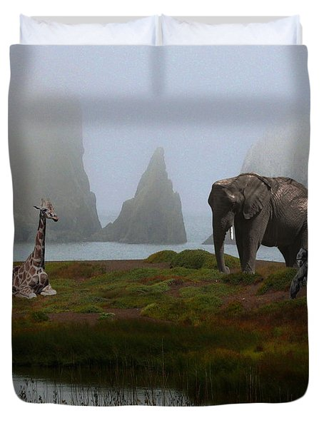 The Menagerie 2 Duvet Cover by Wingsdomain Art and Photography