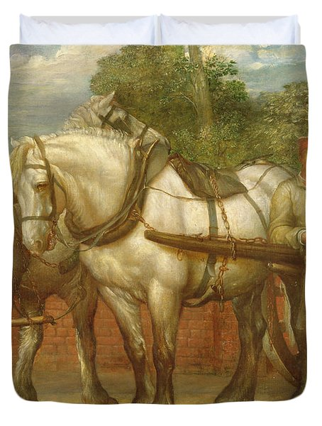 The Noonday Rest  Duvet Cover by George Frederick Watts