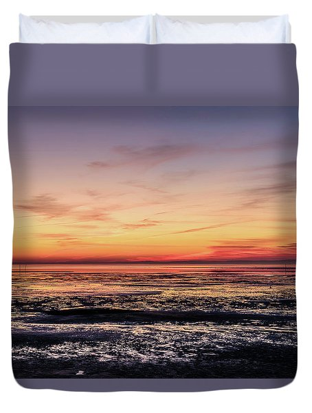 Duvet Cover featuring the photograph The Other World by Thierry Bouriat