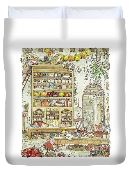 The Palace Kitchen Duvet Cover by Brambly Hedge