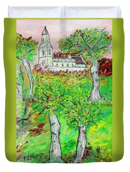 The Parish Curch Duvet Cover by Loredana Messina