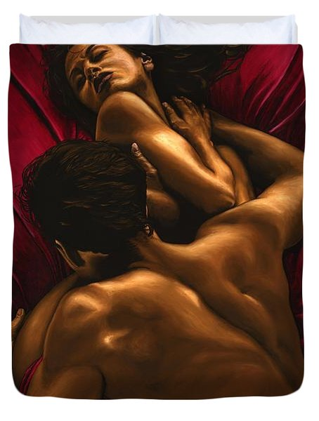 The Passion Duvet Cover by Richard Young