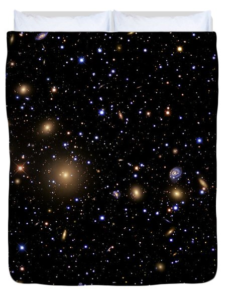 The Perseus Galaxy Cluster Duvet Cover by R Jay GaBany