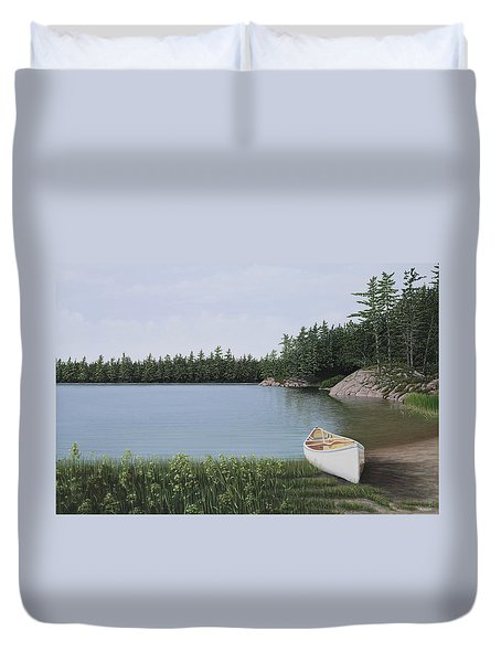 The Portage Duvet Cover by Kenneth M  Kirsch