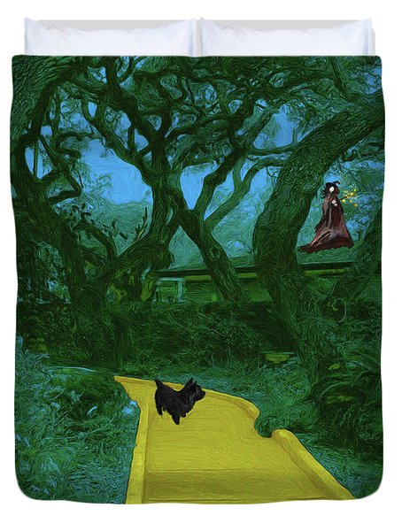 The Road To Oz Duvet Cover by Methune Hively