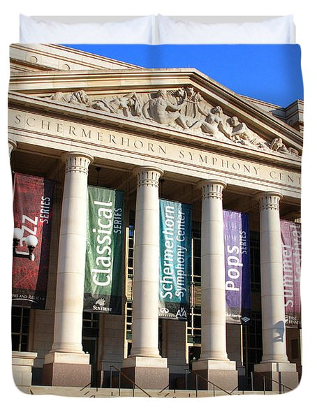 The Schermerhorn Symphony Center Duvet Cover by Susanne Van Hulst