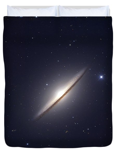 The Sombrero Galaxy Duvet Cover by Robert Gendler