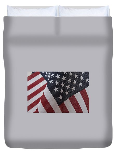 The Stars And Stripes Duvet Cover by Jerry McElroy