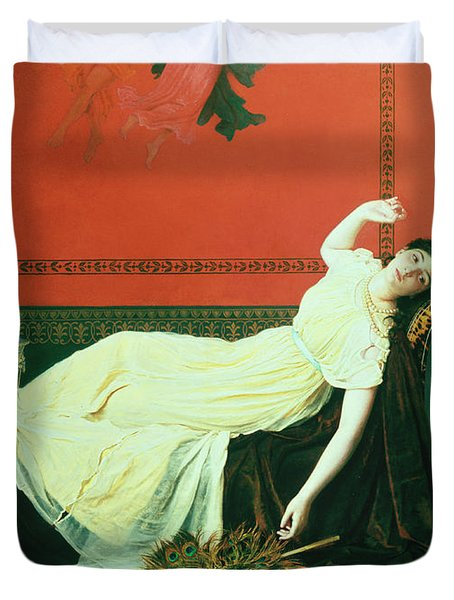 The Studio Duvet Cover by Sophie Anderson