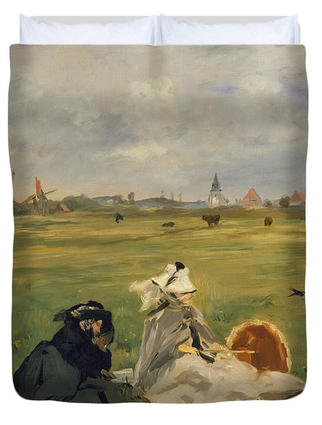 The Swallows Duvet Cover by Edouard Manet