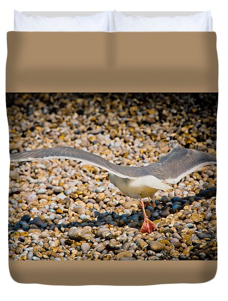 The Takeoff Duvet Cover by Loriental Photography