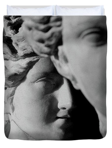 The Three Graces Duvet Cover by Roman School