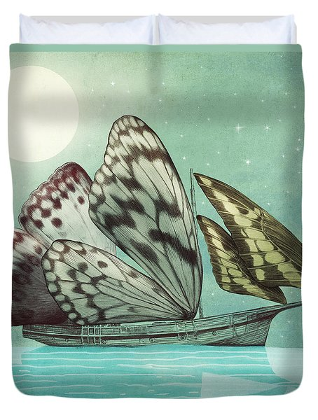 The Voyage Duvet Cover by Eric Fan