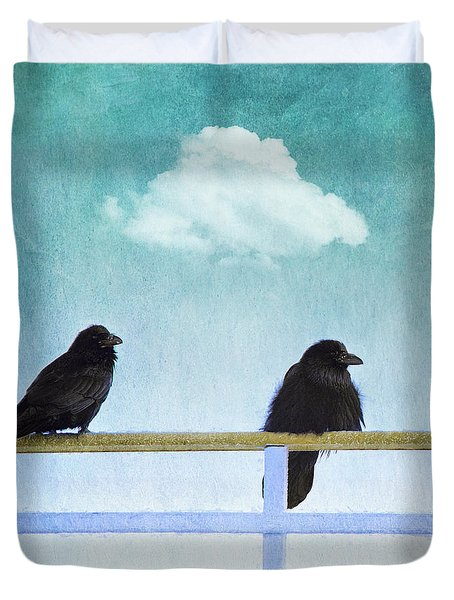 The Wait Duvet Cover by Priska Wettstein