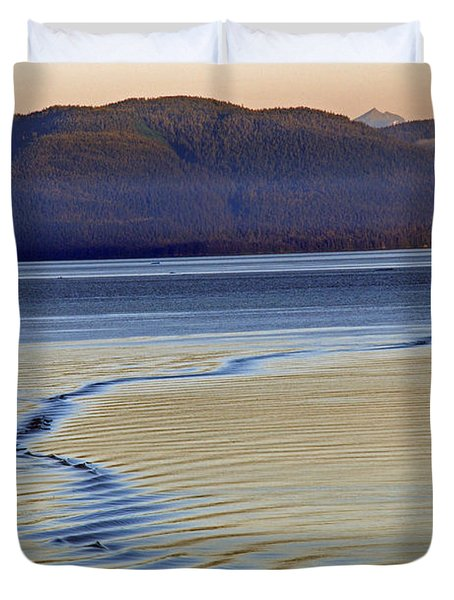 The Waves Duvet Cover by Carol  Eliassen
