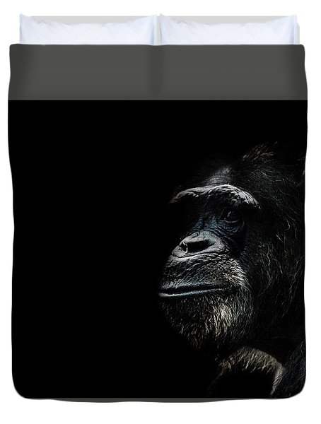 The Wise Duvet Cover by Martin Newman