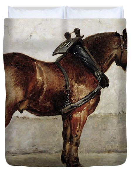 The Work Horse Duvet Cover by Otto Bache