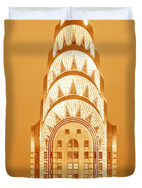This Is A Sepiatone Close Duvet Cover by Panoramic Images