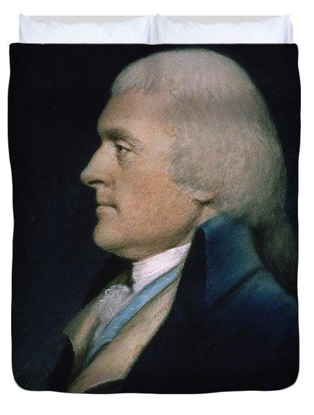 Thomas Jefferson Duvet Cover by James Sharples