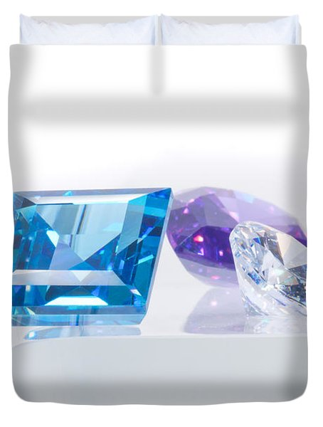 Three Jewel Duvet Cover by Atiketta Sangasaeng