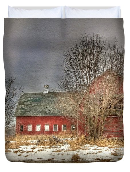 Through the Roof Duvet Cover by Lori Deiter