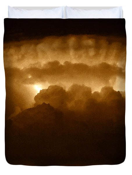 Thundercloud Duvet Cover by David Lee Thompson