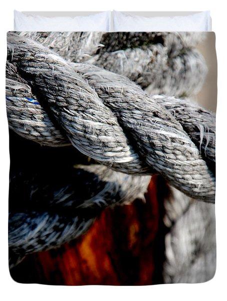 Tied Together Duvet Cover by Susanne Van Hulst