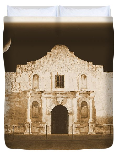 Timeless Alamo Duvet Cover by Carol Groenen
