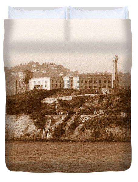Timeless Alcatraz Duvet Cover by Carol Groenen