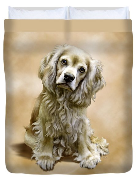 Toby Duvet Cover by Barbara Hymer