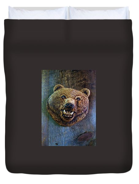 Together Again Duvet Cover by Ron Haist