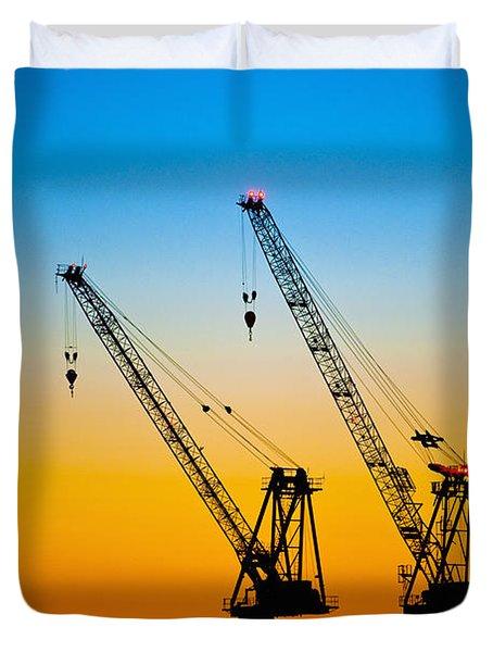 Tokyo Duvet Cover by Bill Brennan - Printscapes