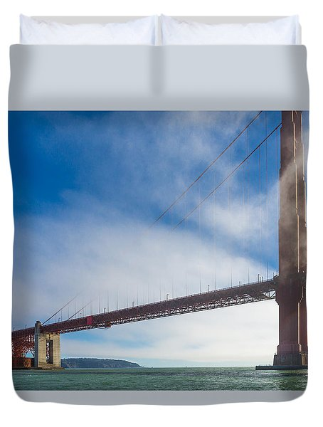 Too Tall Duvet Cover by Scott Campbell
