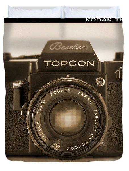 Topcon Auto 100 Duvet Cover by Mike McGlothlen