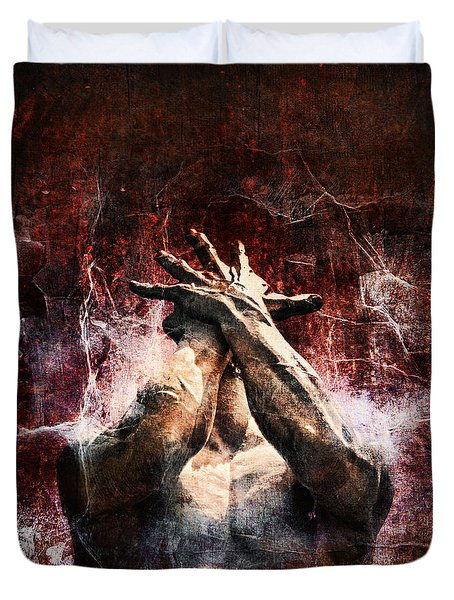 Torment Duvet Cover by Andrew Paranavitana