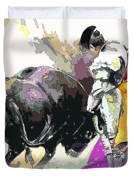 Toroscape 39 Duvet Cover by Miki De Goodaboom