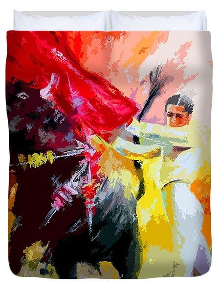 Toroscape 41 Duvet Cover by Miki De Goodaboom