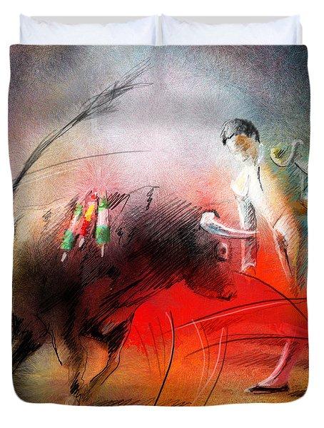 Toroscape 59 Duvet Cover by Miki De Goodaboom