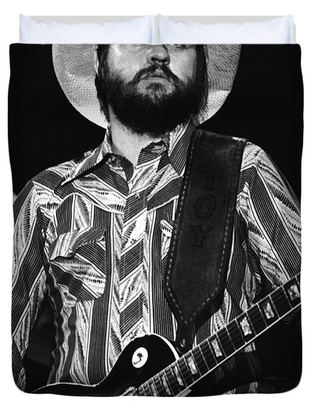 Toy Caldwell Live Duvet Cover by Ben Upham
