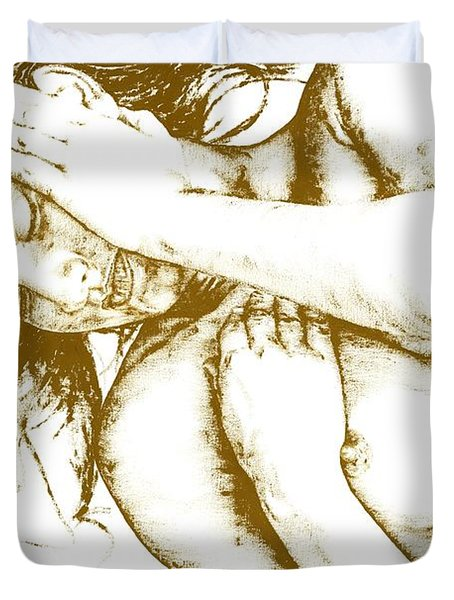 Tragedy Duvet Cover by Richard Young