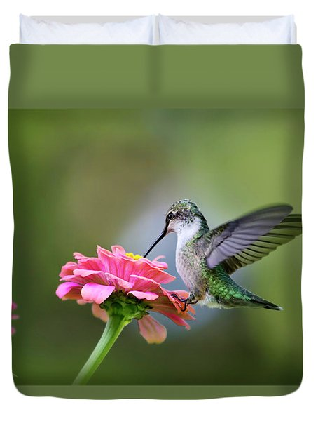 Tranquil Joy Duvet Cover by Christina Rollo