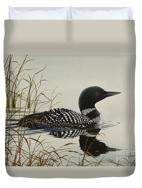 Tranquil Stillness of Nature Duvet Cover by James Williamson