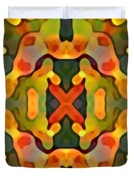 Treasure Duvet Cover by Amy Vangsgard